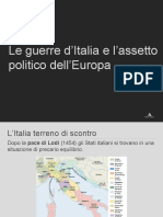 guerre d italia e europa