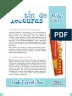 Boletín de lecturas para 4º da ESO (2º trimestre do curso 2010-2011)