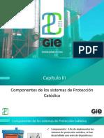 03. Componentes de los sistemas de Protección Catódica