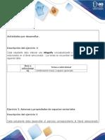 Algebra-Guía de actividades y rúbrica de evaluación - Tarea 3 - Espacios vectoriales (1).docx