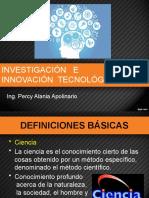INVESTIGACION E INNOVACION TECNOLOGICA