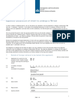 TB Declaration
