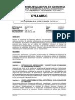 04 EE-375 ESTABILIDAD DE SISTEMAS DE POTENCIA_2018