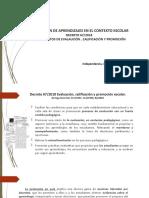 EVALUACIÓN DE APRENDIZAJE EN EL CONTEXTO ESCOLAR, D N° 67, EQUIPOS DIRECTIVOS, 12 MARZO, MÓNICA ESPINA.pptx