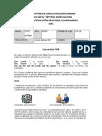 GUIAS DE INGLÉS 6-7 THE