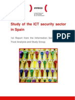 Study of the ICT security sector in Spain
