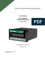 Littelfuse_ProtectionRelays_EL731_Manual