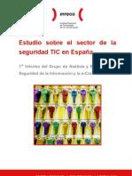 Estudio sobre el Sector de la Seguridad TIC en España