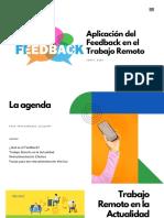 Aplicación del Feedback en el Trabajo Remoto