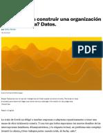 Comportamiento Organizacional durante Covid