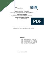 Analisis de los Métodos empleados para evitar la doble Tributación 2.1