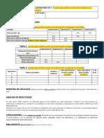 Reporte práctica 3. CALORIMETRÍA-LEY DE HESS