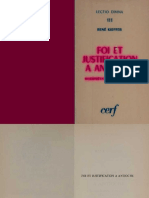 Foi et justification à Antioche - R. Kieffer