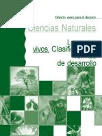Ciencias Naturales. Los seres vivos. Clasificación y formas de desarrollo. Orie.docx