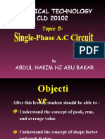 Topic 5 Single Phase AC Circuit.ppt