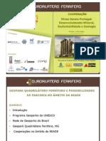 Geopark Quadrilatero Ferrifero - Apresentacao em Evora