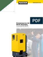 Compresores de tornillo serie airtower