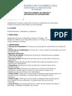 INSTRUCTIVO GENERAL DE TRINCADO Y DESTRINCA DE CONTENEDORES