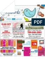 Rewards coupon book