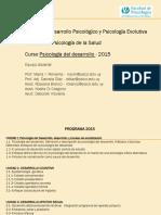 Primer Clase Psicología del Desarrollo 2015