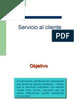 Servicio al Cliente Clase 1