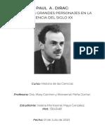 Biografía de Paul Dirac
