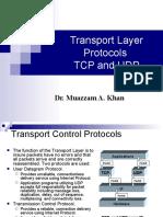 (CCNA) 3.Transport Layer Protocols