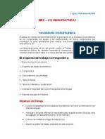 2.- PROYECTO SOLDADURA OXIACETILENICA