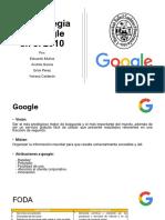 La estrategia de Google en el 2010