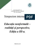 EDUCATIA NONFORMALA