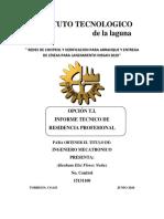 Informe Técnico Final de Residencia Profesional