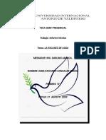 Dimas Ricardo Gonzales, 2020, seccion A, TSCA, Semipresencial n⁴