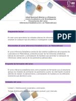 Presentación del curso Inferencia Estadística (Lic en Matemáticas) - ECEDU