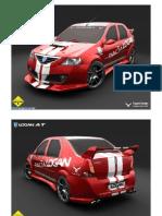 Dacia Logan in NFS