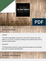 the avant garden presentation