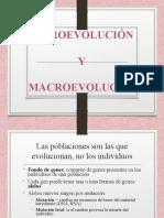 SESION 13-MICROEVOLUCION Y MACROEVOLUCION