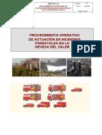 PROCOP 1.11 INCENDIOS FORESTALES EN LA DEVESA DEL SALER