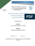 METODOS DE OBTENCION DE NUEVAS MOÉCULAS. CUADRO SINÓPTICO.pdf