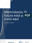 MEMRISTORES - El futuro está ya (casi) aquí