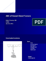Cutaneous adnexal tumors of sweat gland origin