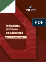 Indicadores de Precios de La Economía - Agosto 2020