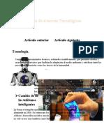 Artículo de Avances Tecnológicos