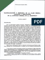 Racionalización y respuesta de la clase obrera - Daniel James.pdf
