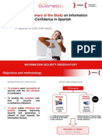 Executive Summary of the Study on Information Security and e-Confidence in Spanish Households (3rd Quarter 2010)