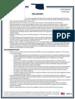 Oklahoma White House Coronavirus Report 9-6