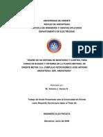 UNIVERSIDAD DE ORIENTE NÚCLEO DE ANZOÁTEGUI ESCUELA DE INGENIERÍA Y CIENCIAS APLICADAS DEPARTAMENTO DE ELECTRICIDAD