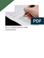 DE LA COMPENTENCIA PARA CONTRATAR Y LA DELEGACIÓN ADMINISTRATIVAV3