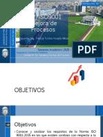 Clase 4 ISO 9001 Mejora de Procesos