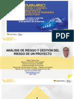 21_1.ANÁLISIS DE RIESGOS Y GESTIÓN DE RIESGOS EN LOS COSTOS DE UN PROYECTO