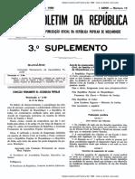 Acordo de Cooperação Jurídica e Judiciária Moçambique-Cuba